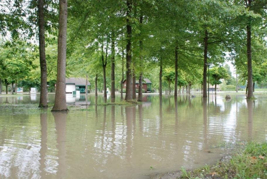 Inondation juin 2013 Lac d'Orthez