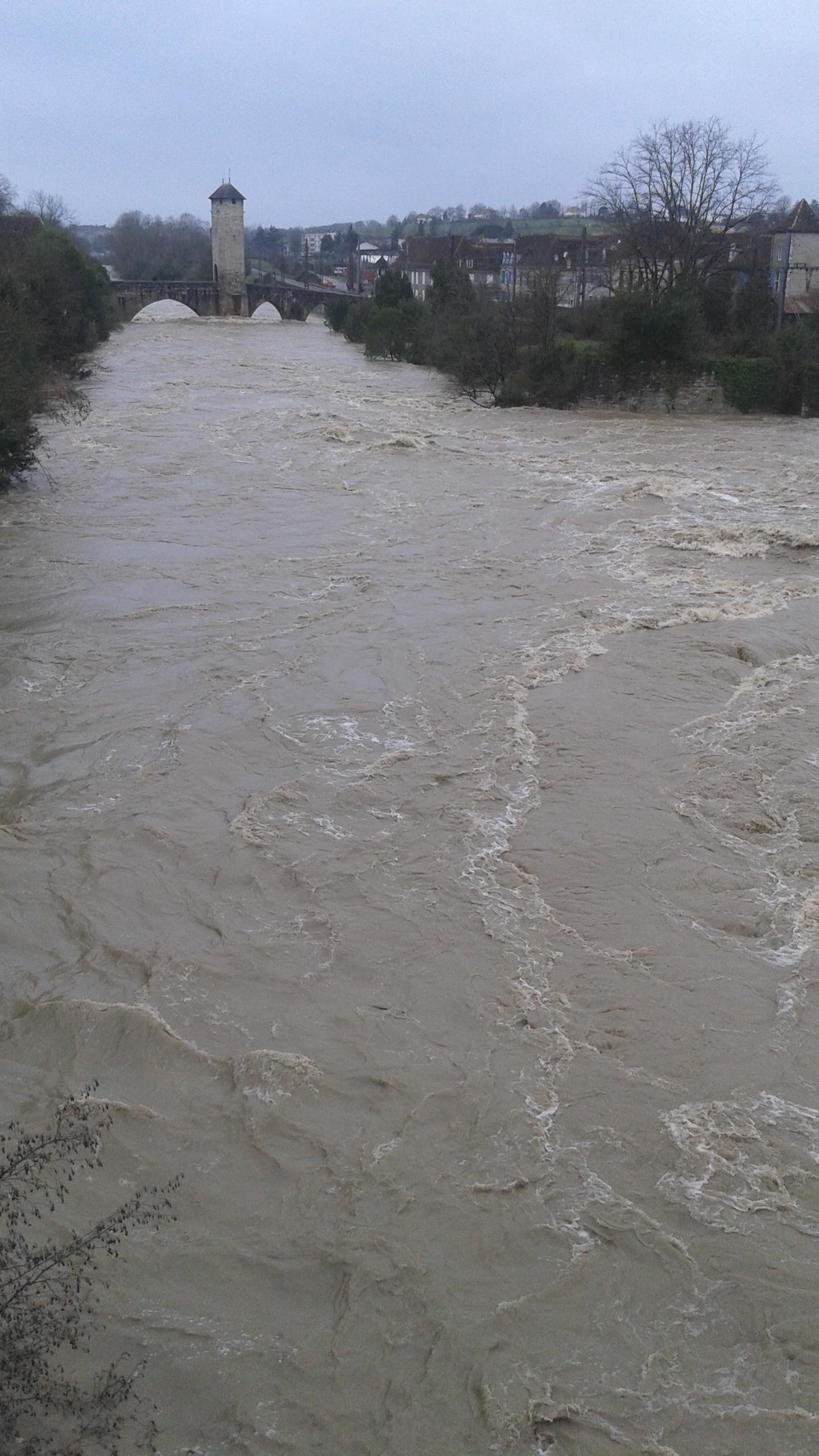 Inondation 25 janvier 2014