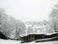 Orthez sous la neige