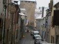 Rue du Pont Vieux sous la neige