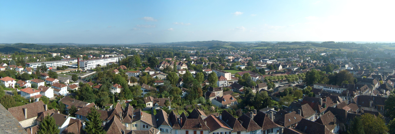 Panorama d'Orthez