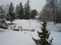 Le Parc Gascoin sous la neige